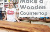 Hoe maak je een houten Countertop