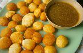 Pani puri/Gol Gappa (Indische Street Food) - de eenvoudigste manier!