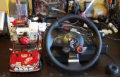 No.02 Steering Wheel Drive R/C auto met Arduino, Webcam en net. USB enz