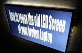 Hoe te hergebruiken van de oude LCD-scherm van uw kapotte Laptop