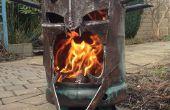 De Tovenaar-koning van Angmar hout brander