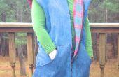 Gevoerd Vest van oude kleding