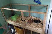Bouw een cavia kooi met eenvoudig schoonmaken! (Projecten met kinderen)