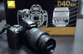 How to fix 'Press Shutter Release knop opnieuw' fout op een Nikon DSLR.