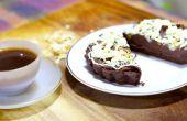 Niet bakken chocolade taart | Koken met Benji
