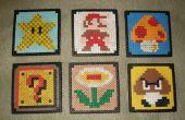 Super Mario Bros drank Coasters (Perler kralen)