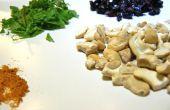 Cranberry Curry en Mint cashewnoten boter