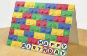 3D-kaart van LEGO