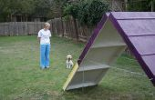 DIY hond Agility A-Frame