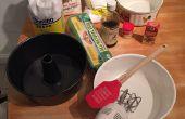 Zelfgemaakte Angel Food Cake met banketbakkersroom & slagroom