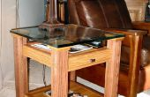 Eiken & glasvertoning eindtafel Top