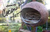 Kokosnoot Hut | Een thuis voor vogels & wezens