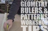 Jimmy DiResta samenwerking: 26 geometrie, linialen & patronen Workshop Tips