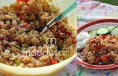 Sweet Curry zomer rijst salade recept