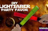 DIY Star Wars Lightsaber partij gunsten