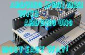Hoe te programmeren Pro Mini Arduino Arduino Uno en ArduShield - zonder de kabels met