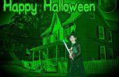 Halloween foto manipulatie met behulp van Pixlr