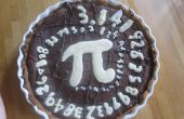 Chocolade taart met chocolade π