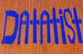 Vinyl stickers op afgewerkt hout - een zorgvuldige toepassingsproces stapsgewijze