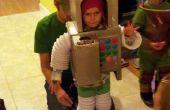 Child's Robot kostuum met geluidseffecten, Candy Detector en meer
