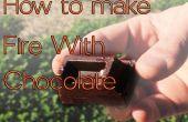 Hoe Make brand met chocolade en kan