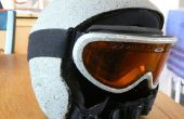 Rockhead snowboard helm en bril