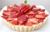 Strawberry Shortcake Tart (met magnetron banketbakkersroom!)