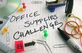 Het invoeren van de Instructables Office Supplies uitdaging