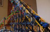 Stalen achtbaan van Python Knex