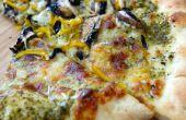 "Tomatillo ""Groene saus"" Pizza"