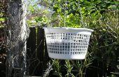 Vrijwel gratis opknoping plantenbakken maken / ondersteboven tomaten