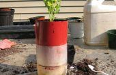 Zelf water Plant Container uit een 2 liter fles