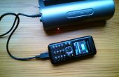DIY solar charger voor mobiele telefoon oplader zaklampen.