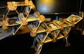 Playing Card bouw instellen met behulp van kartonnen Connectors