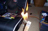Vlam gooien altoids gitaar
