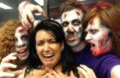Zombie make-up voor een dinsdag