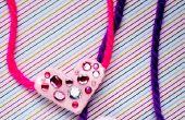 Color Me gelukkig hart Hangers