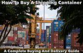 Hoe koop je een verschepende Container