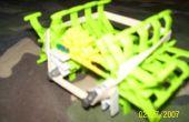 Betekenen groene KNEX Machine spin