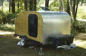 Bouw uw eigen Teardrop Camping Trailer!