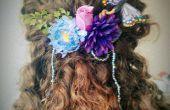 Maak uw eigen floral faerie haar sieraad! Ideaal voor bruiloften en kostuums.