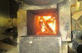 Hoe licht een rocket mass heater