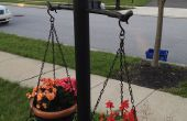 Maken van buurman jaloers met licht post tuin