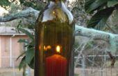 Wijnfles opknoping lantaarn