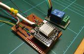 Een esp8266 arduino met behulp van een relais met behulp van home-assistant