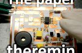 De papier-theremin