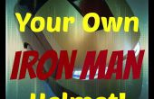 3D afgedrukt Iron Man roerende helm (niveau - Easy) stemming! ^ ^