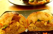 Hoe maak je Homemade Pulled Pork Gourmet Sandwich