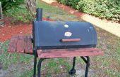 Upcycle een weggegooid barbecue/Smoker aan een leuk Planter Box(updated)