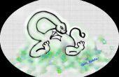 Tekenen van een Baby Dragon tee met mijn verf software